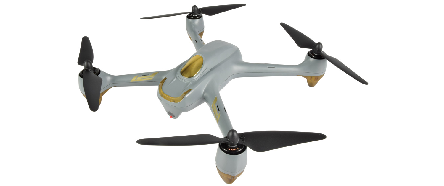 X4 Air App-Controlled Quadcopter with GPS
