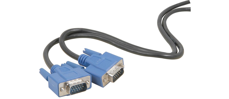 111029  VGA plug - VGA plug, 5.0m - Bopp bag