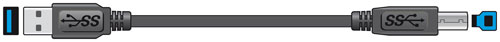 USB 3.0 AM-AM 1.5m Lead