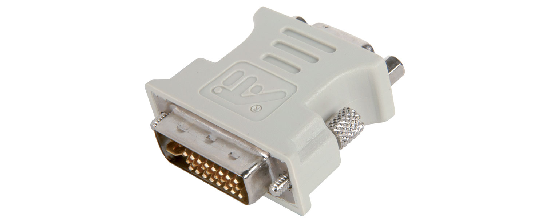DVI-I plug to VGA socket