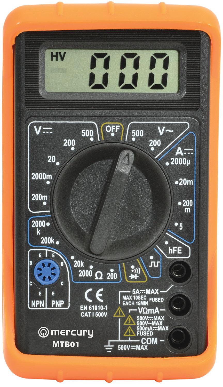 Digital Multitester MTB01