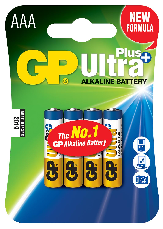 AA Ultra+ Alk blister 4PK