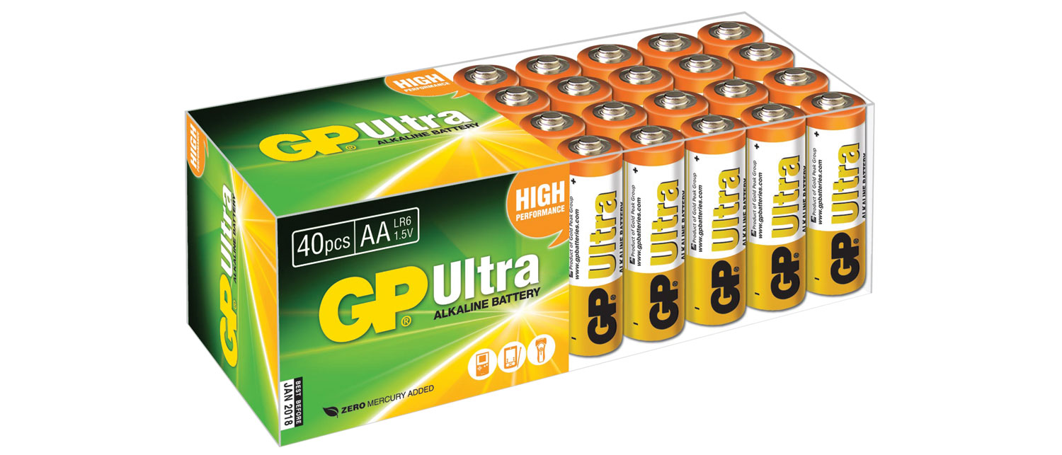 AA Ultra Alk 24PK UPVC Box