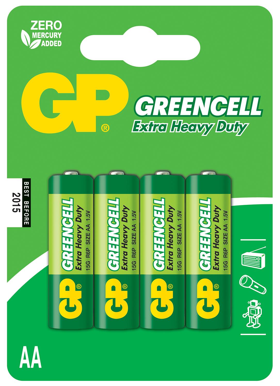 Zinc chloride batteries, C, 1.5V, packed 2 per blister