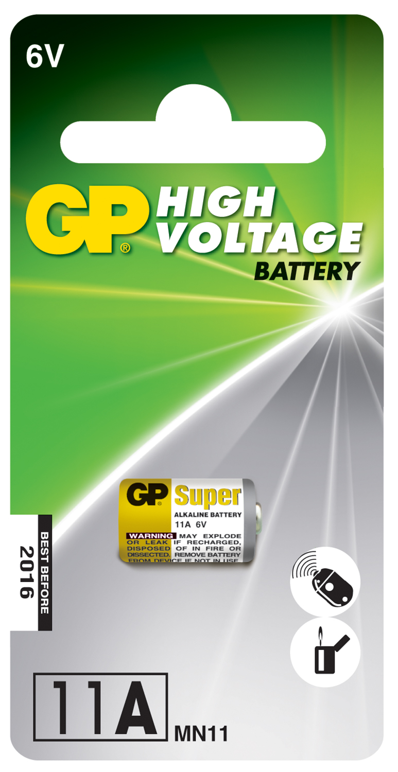 12V (23AE) alkaline battery - 1 piece on a blister
