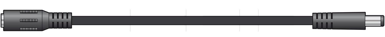 mercury 2.1 x 5.5mm DC Extension Lead 5m