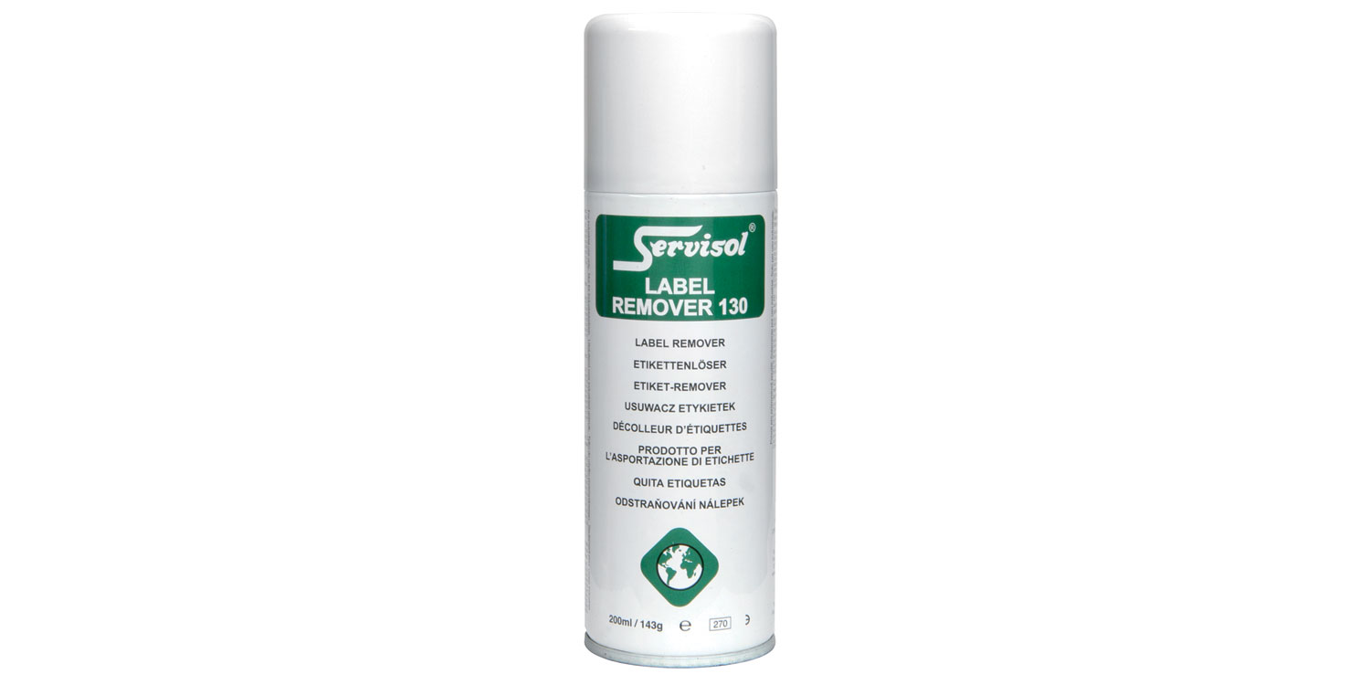 Label Remover 130, self adhesive label and sticker remover, 200ml