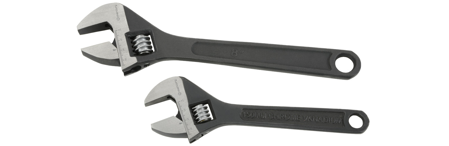 General Purpose 2pcs Adjustable Wrench Set
