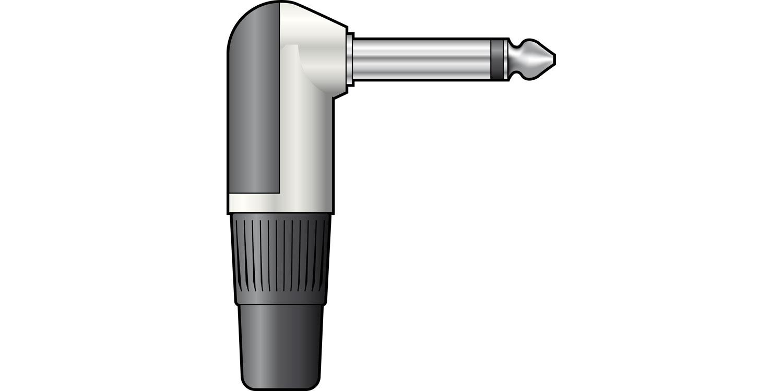 NEUTRIK NP2RX, 6.3mm mono plug - solder terminals
