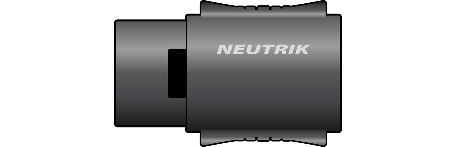 "NEUTRIK"" NL4MMX, 4-pole Speakon In-line Coupler, Bulk"