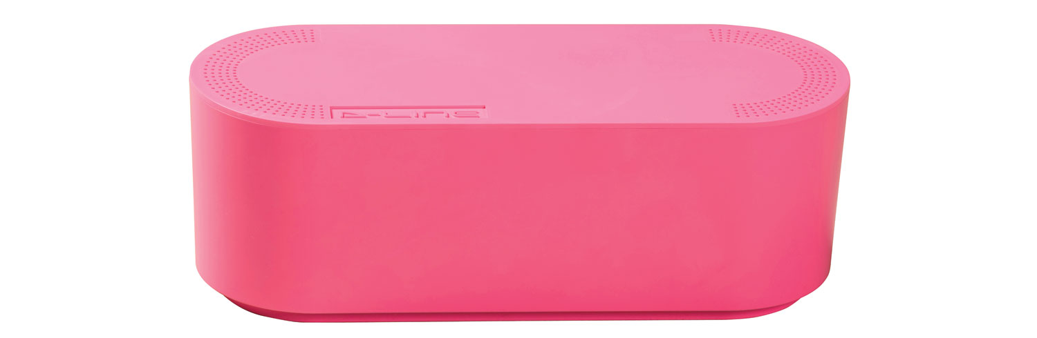 Cable Tidy Unit Small Pink
