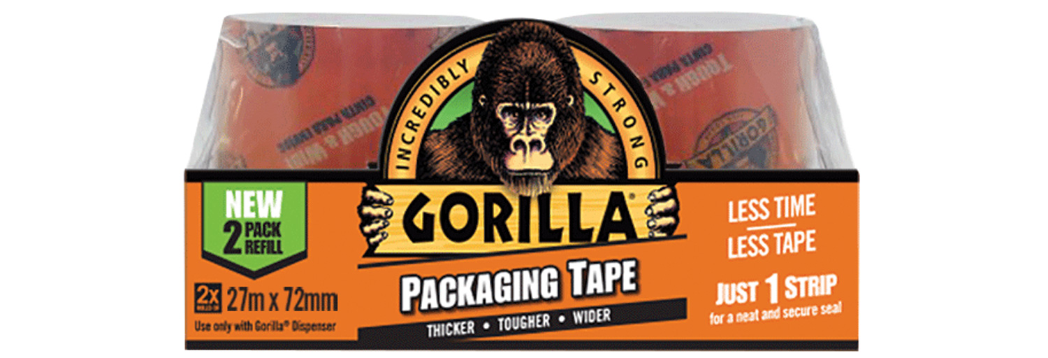 Gorilla Packaging Tape 2x27m