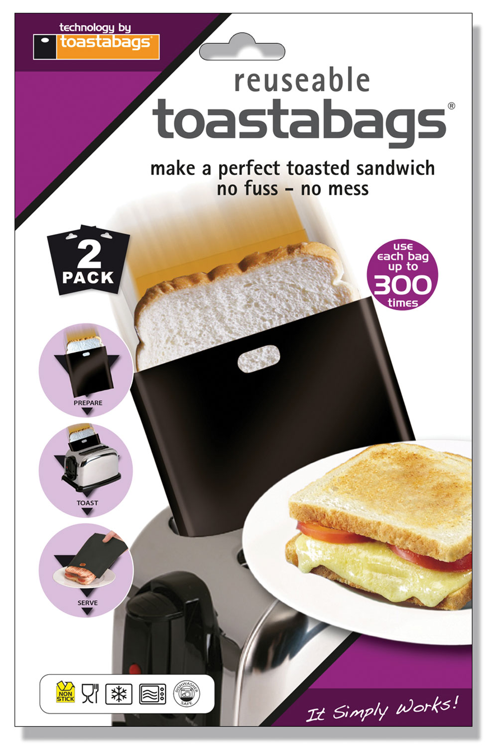Toastabags 300 Use - 2 Pack