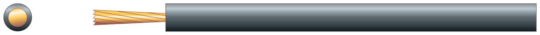 Loop Cable, 1.0mm�, Black - 100m