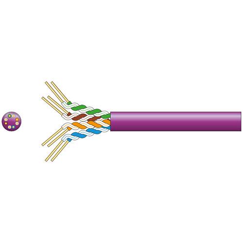 Cat5e U/UTP LSZH Network Cable 305m Lilac