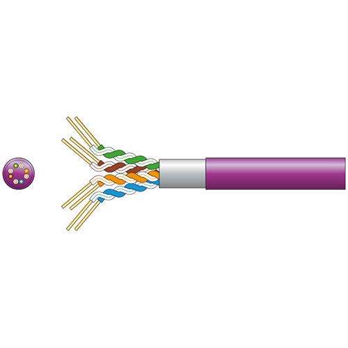 Cat5e F/UTP LSZH Network Cable 305m Lilac