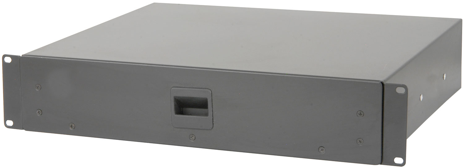 "19"" rack drawer - 2U"