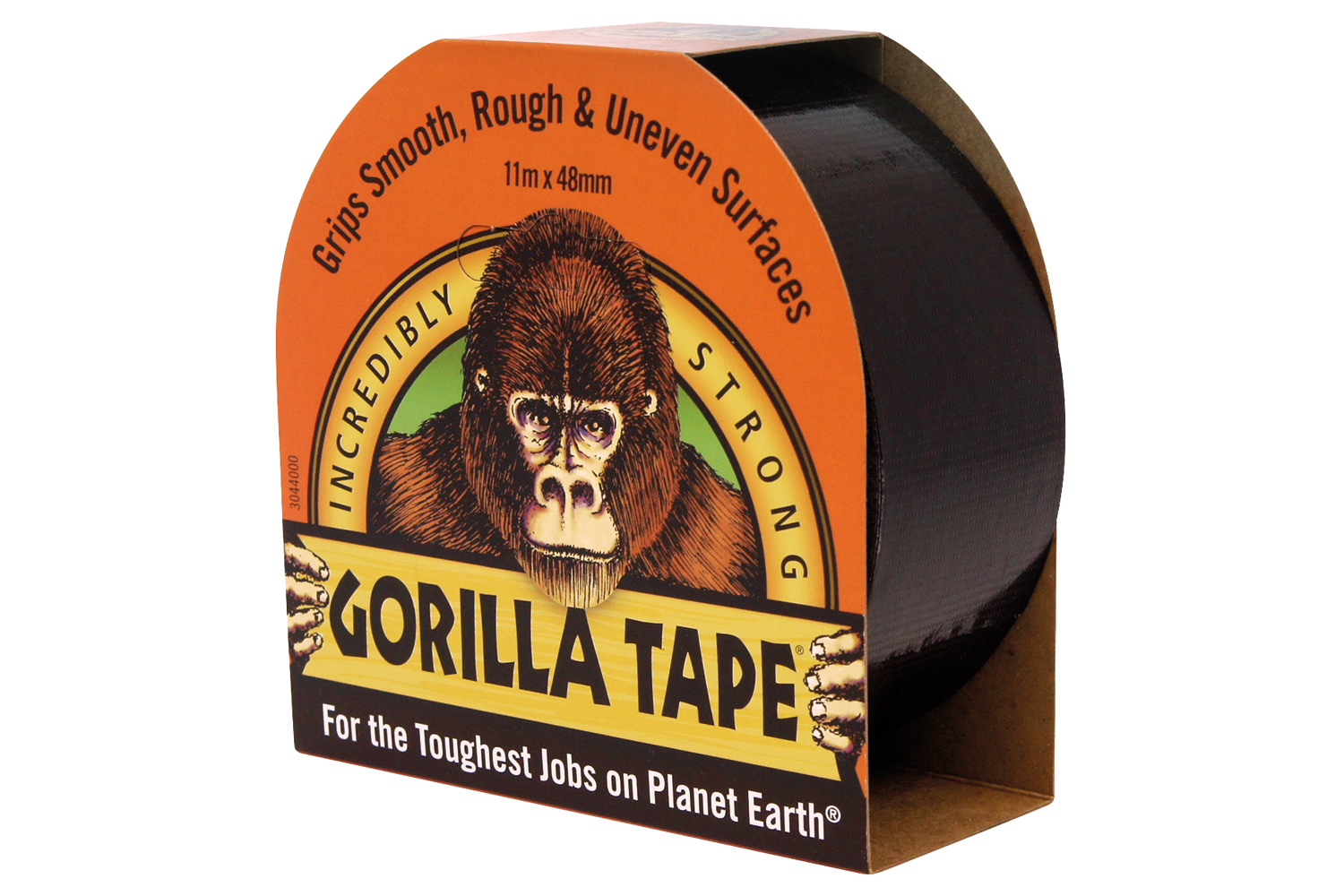 Gorilla Duct Tape Black 11m