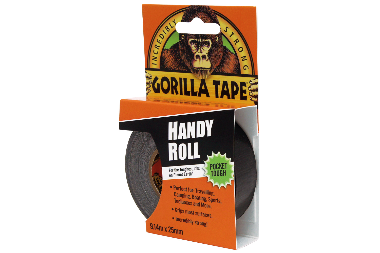 Gorilla Duct Tape Black 9m