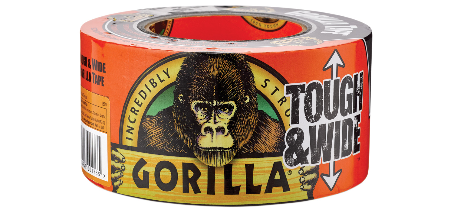 Gorilla Duct Tape Black 27m