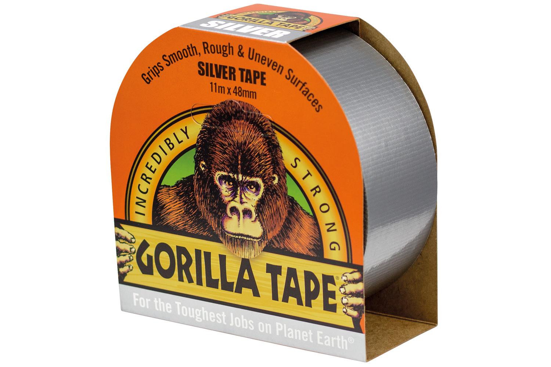 Gorilla Duct Tape Silver 11m