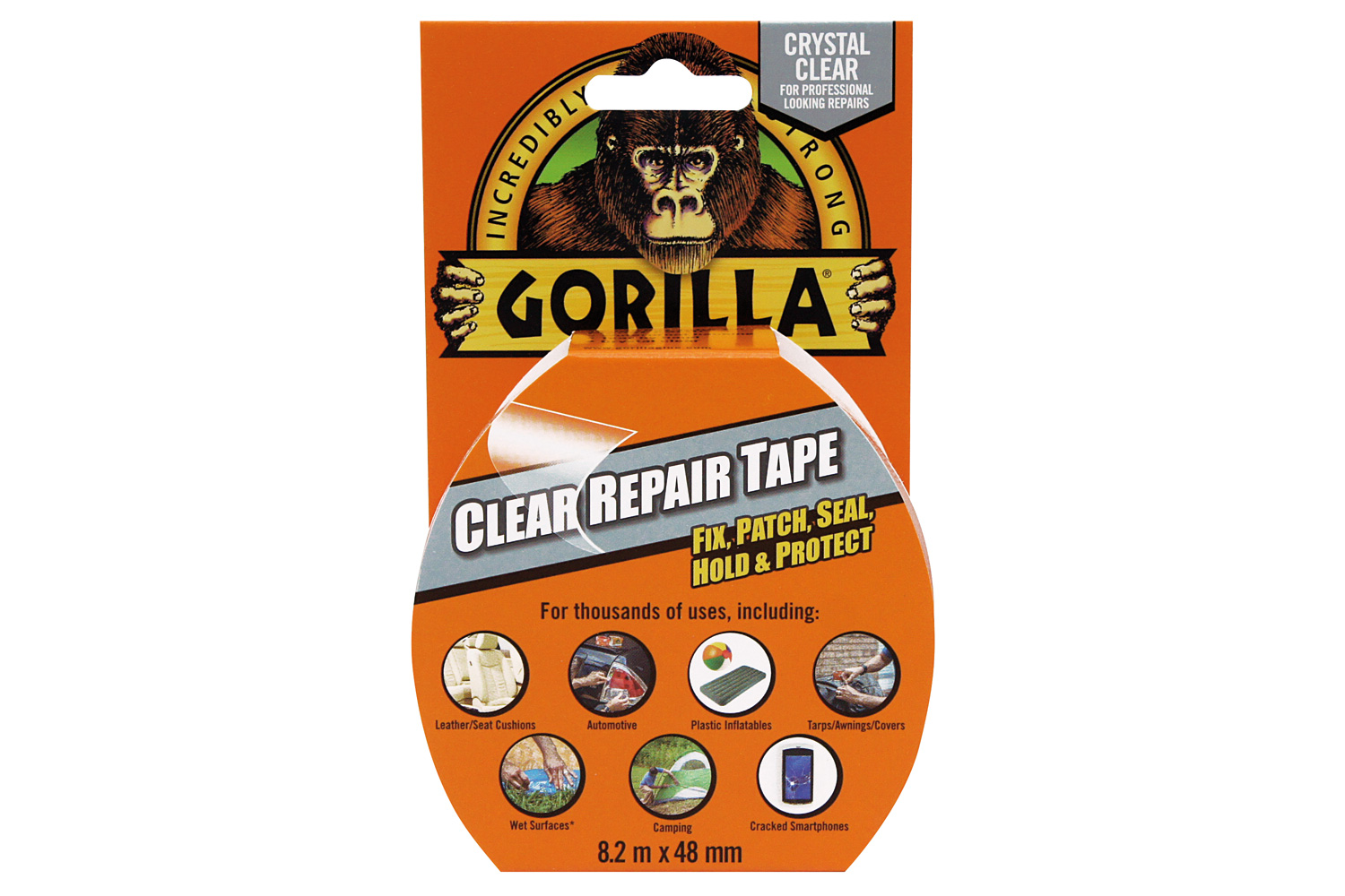 Gorilla Clear Repair Tape 8.2m