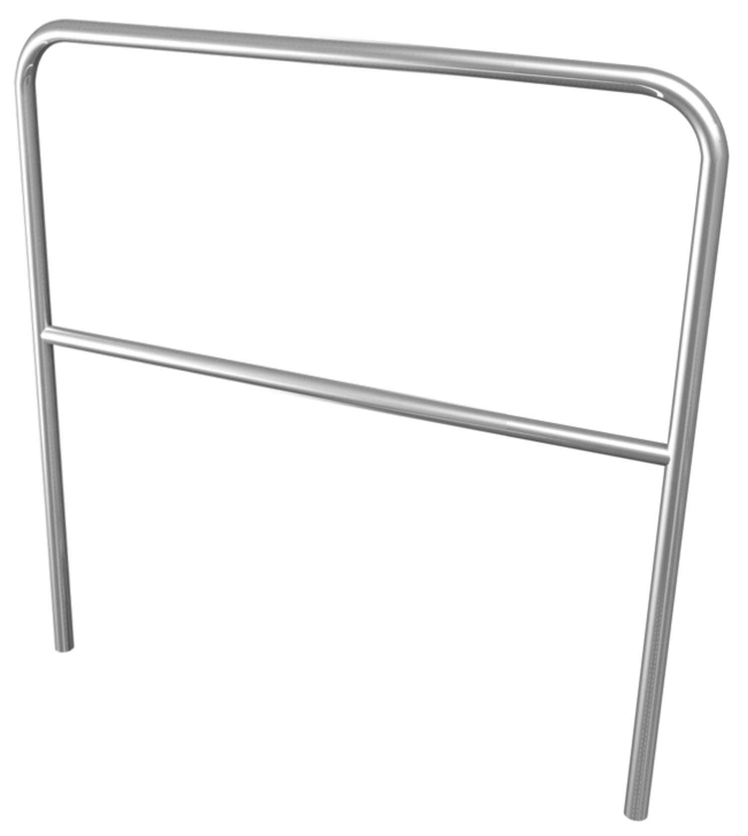 Aluminium Handrail 1m