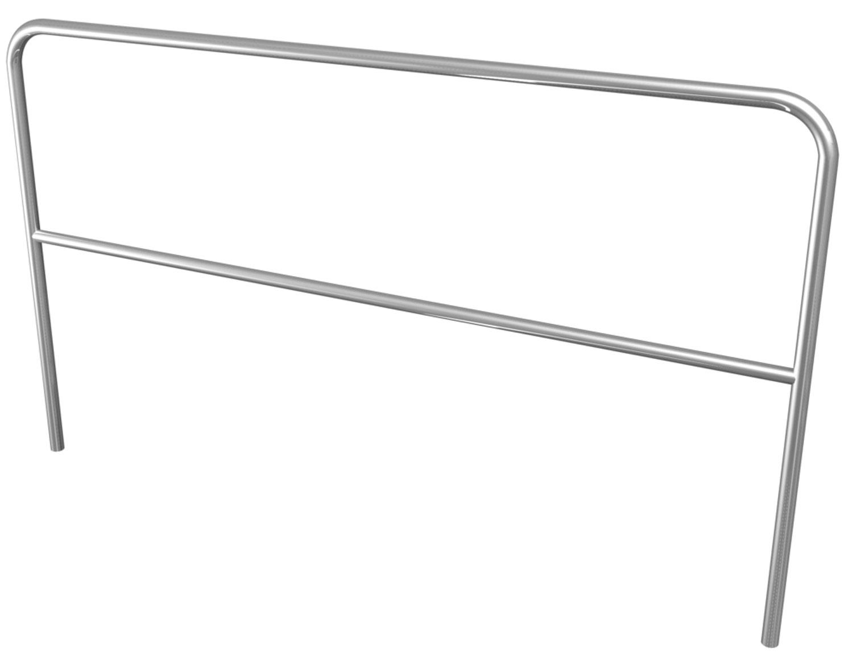 Aluminium Handrail 2m
