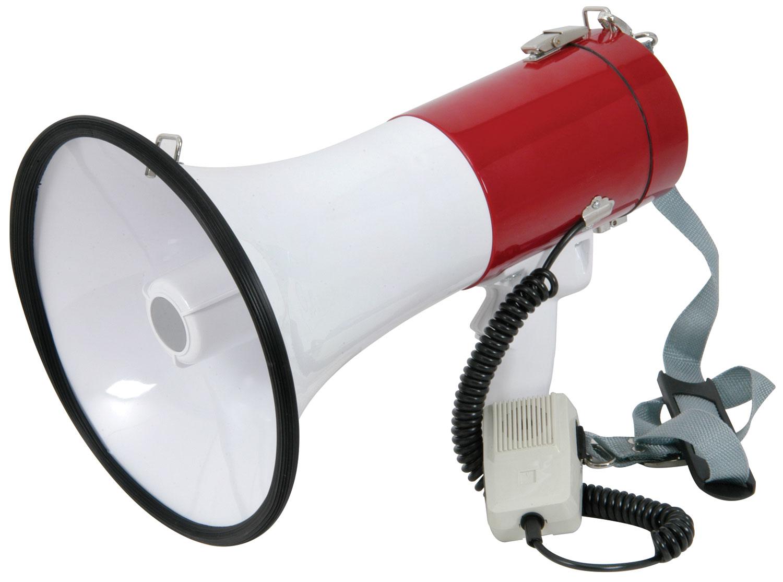 952019 Megaphone 30W with Siren