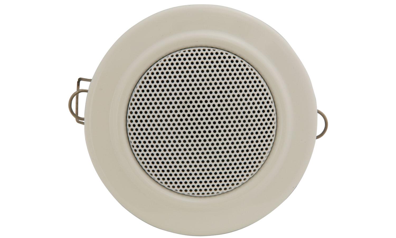 Compact ceiling speaker, 100V line, white