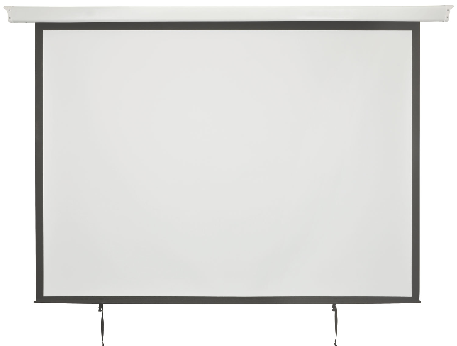 "952321 Motorised 84"" 4:3 Projector Screen with fitted In-line control switch"