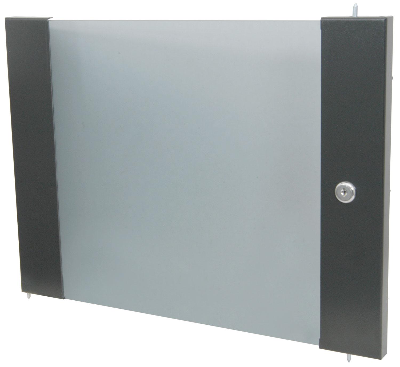Lockable toughened glass door - 16U