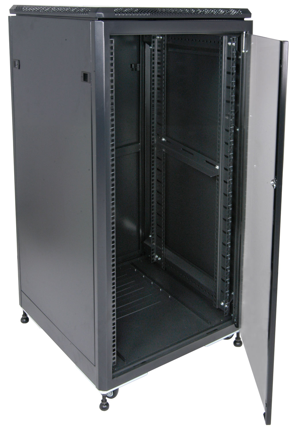 "19"" Data cabinet flat packed, 21U"