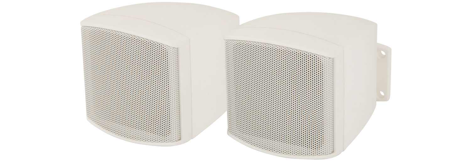 952820 Pair C25V-W Compact Speakers W