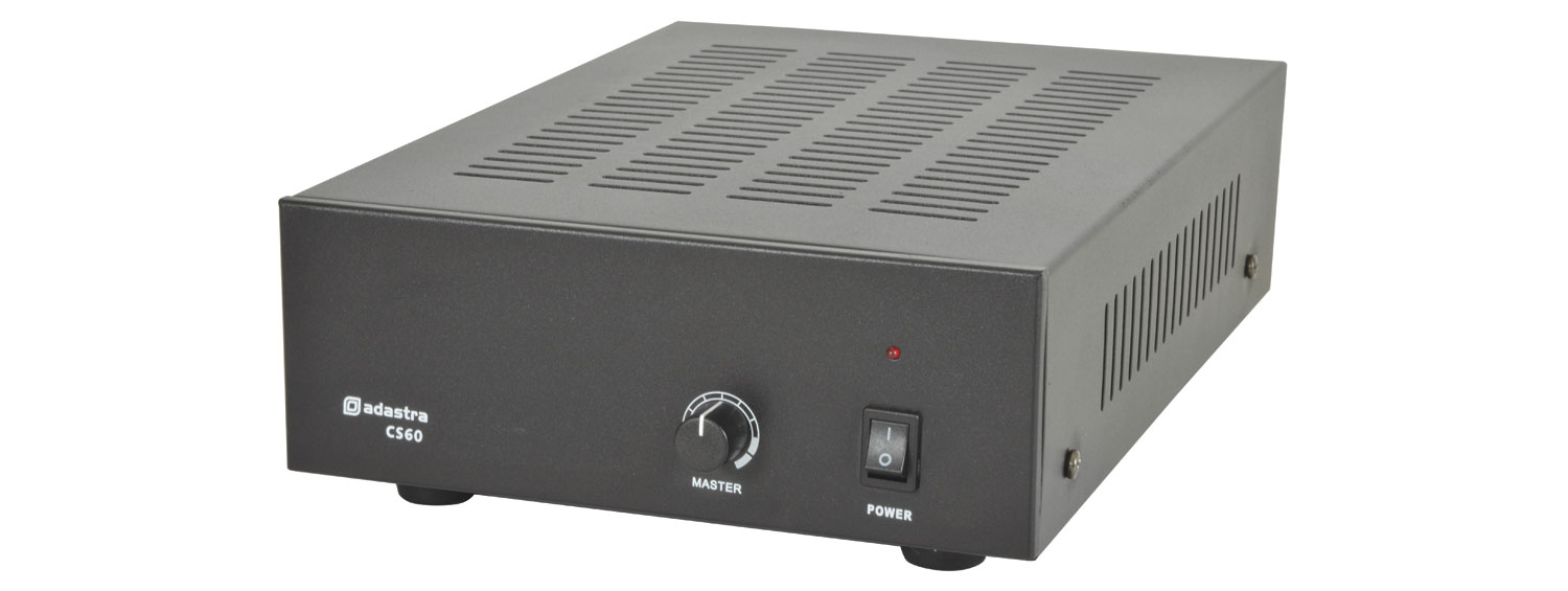 CS60 compact 100V slave amplifier 60W