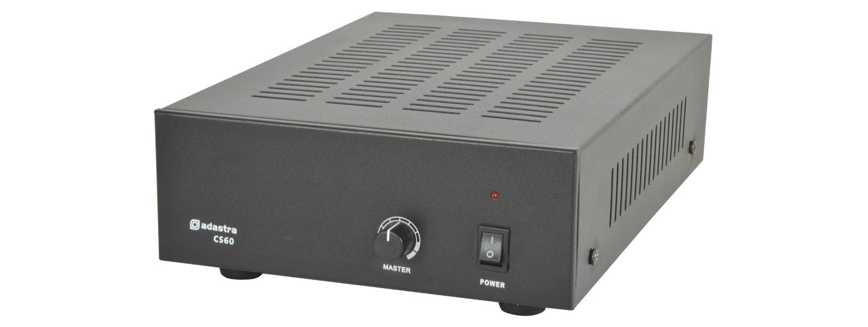 CS60 compact 100V slave amplifier 60W