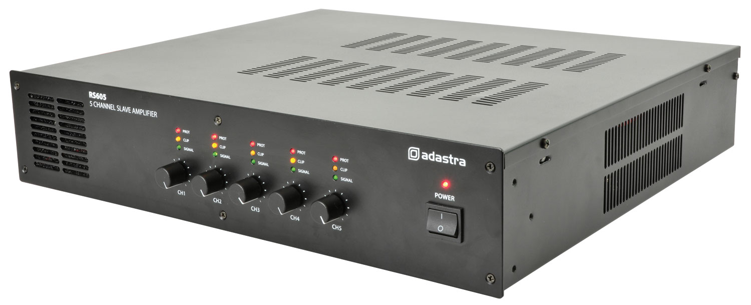 RS605 5 x 60W slave amplifier RS605