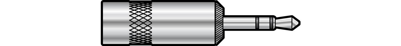 """NEUTRIK"""" NYS231, 3.5mm stereo jack plug"""