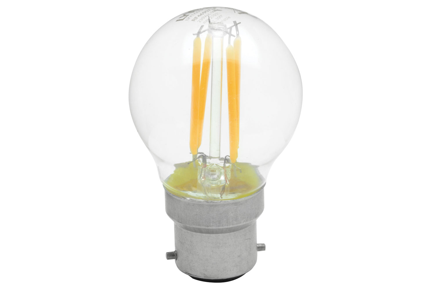 lyyt Golfball Filament Lamp 4W LED B22 WW