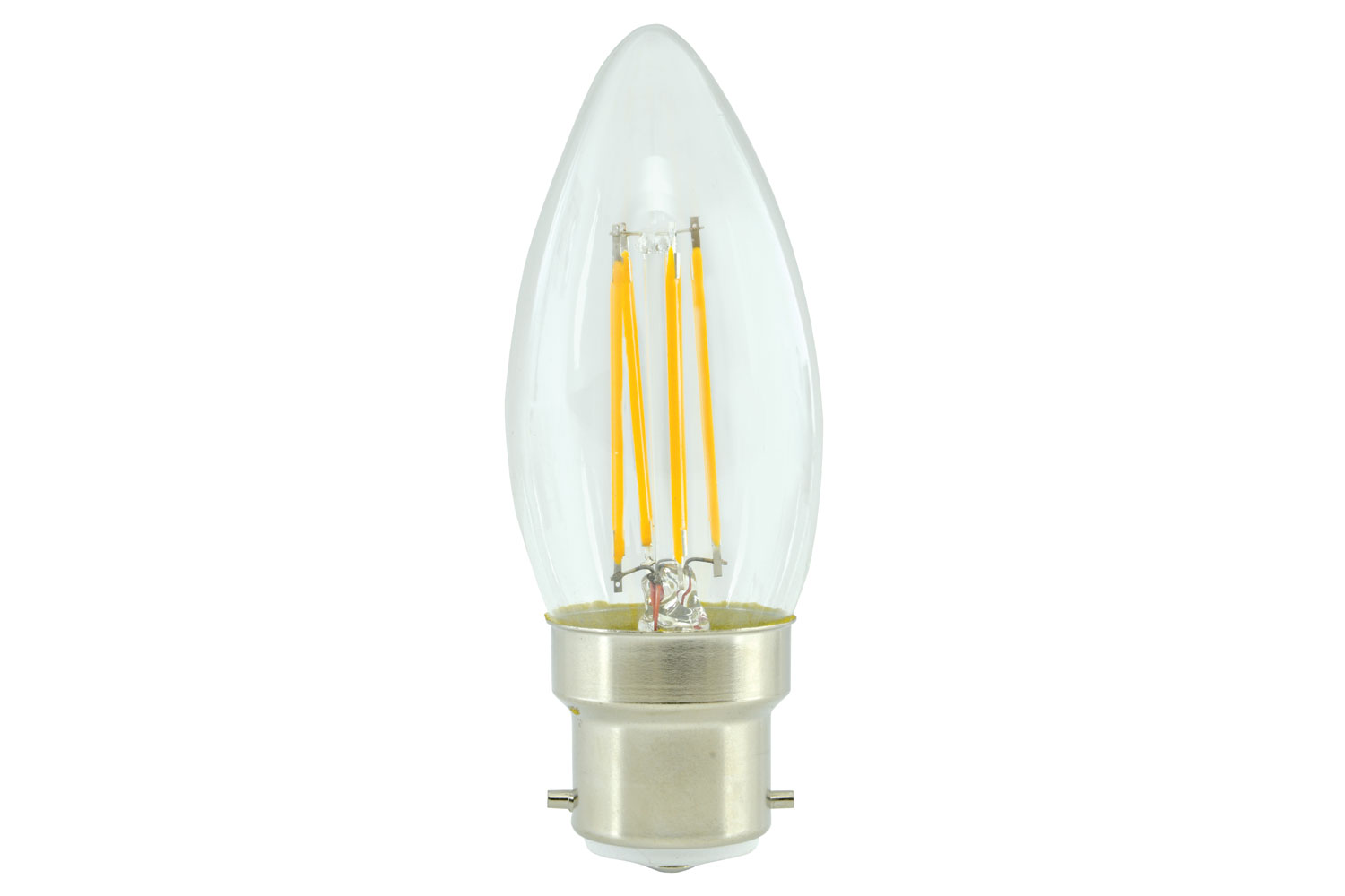 lyyt Candle Filament Lamp 4W LED B22 WW