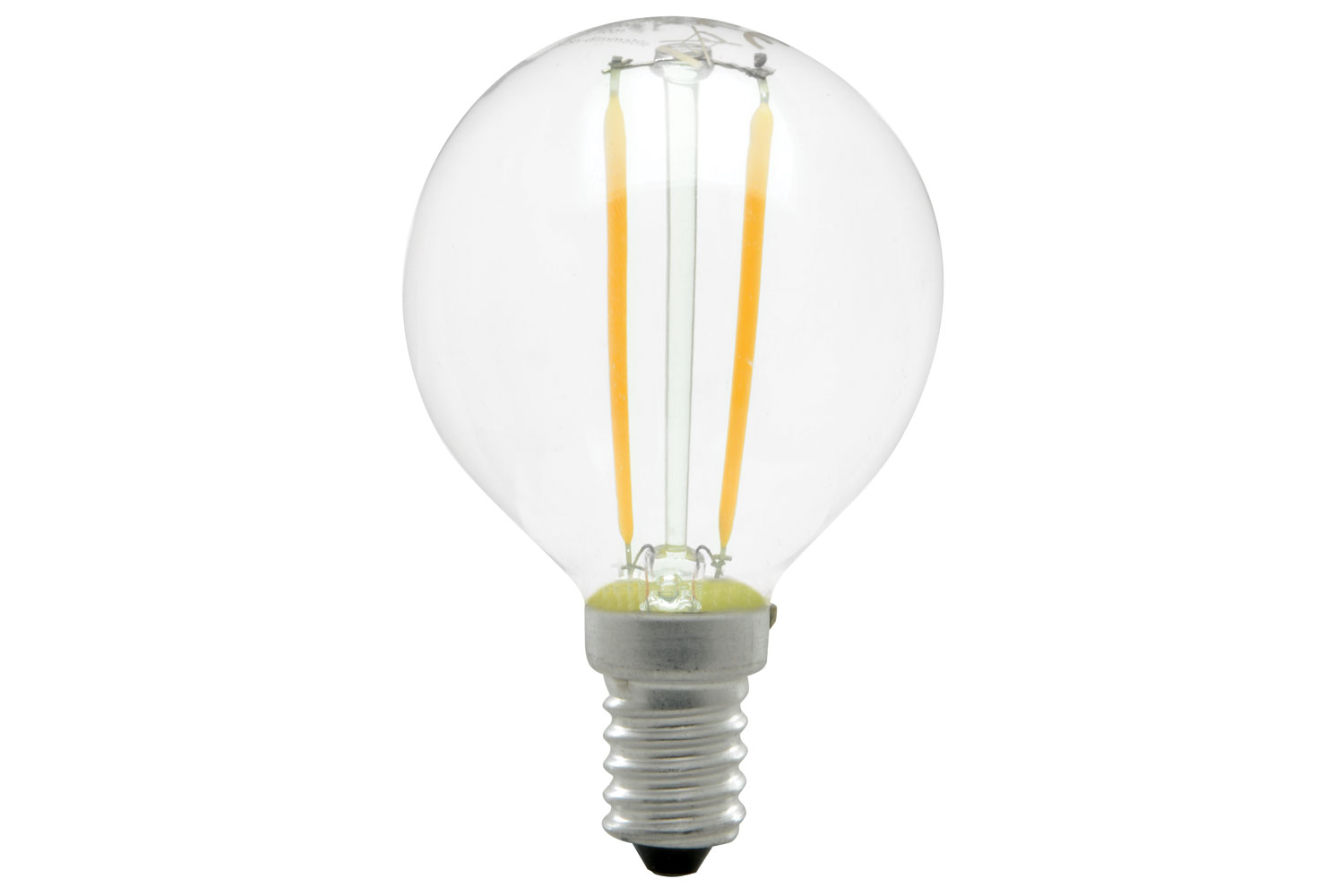 lyyt Golfball Filament Lamp 2W LED E14 WW