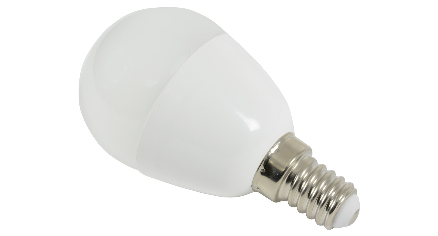 lyyt Golfball Lamp 6W LED E14 Dimmable - NW