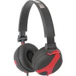 SHR40 Red Stereo Headphones by avlink, Part Number 100.637UK