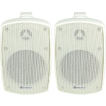 BH4 Speakers Indoor/Outdoor pair white by Adastra, Part Number 100.918UK
