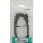 1m HDMI plug to plug Lead by avlink, Part Number 112.079UK