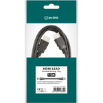 HQ 4K ready high speed HDMI lead with Ethernet 1.5m by avlink, Part Number 112.138UK