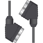 Scart Lead Male to Male 1.5m Black by avlink, Part Number 112.170UK
