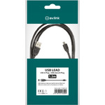 1.5m USB Lead A to Micro B 5Pin by avlink, Part Number 113.001UK