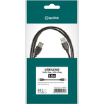 1.5m USB Lead 2.0 A Plug to A Plug by avlink, Part Number 113.003UK