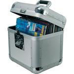 Deluxe aluMinium flight Case, 50 LPs by Citronic, Part Number 127.033UK